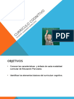 2. Currículum Cognitivo