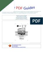 Manual Do Usuário LG 37LG50D P