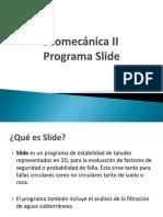 Geomecánica II Slide