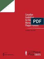 CD n Psoriasis Guidelines