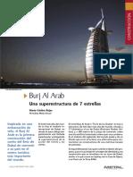 Construcción Del Hotel Burj Al Arab, Una Superestructura de 7 Estrellas