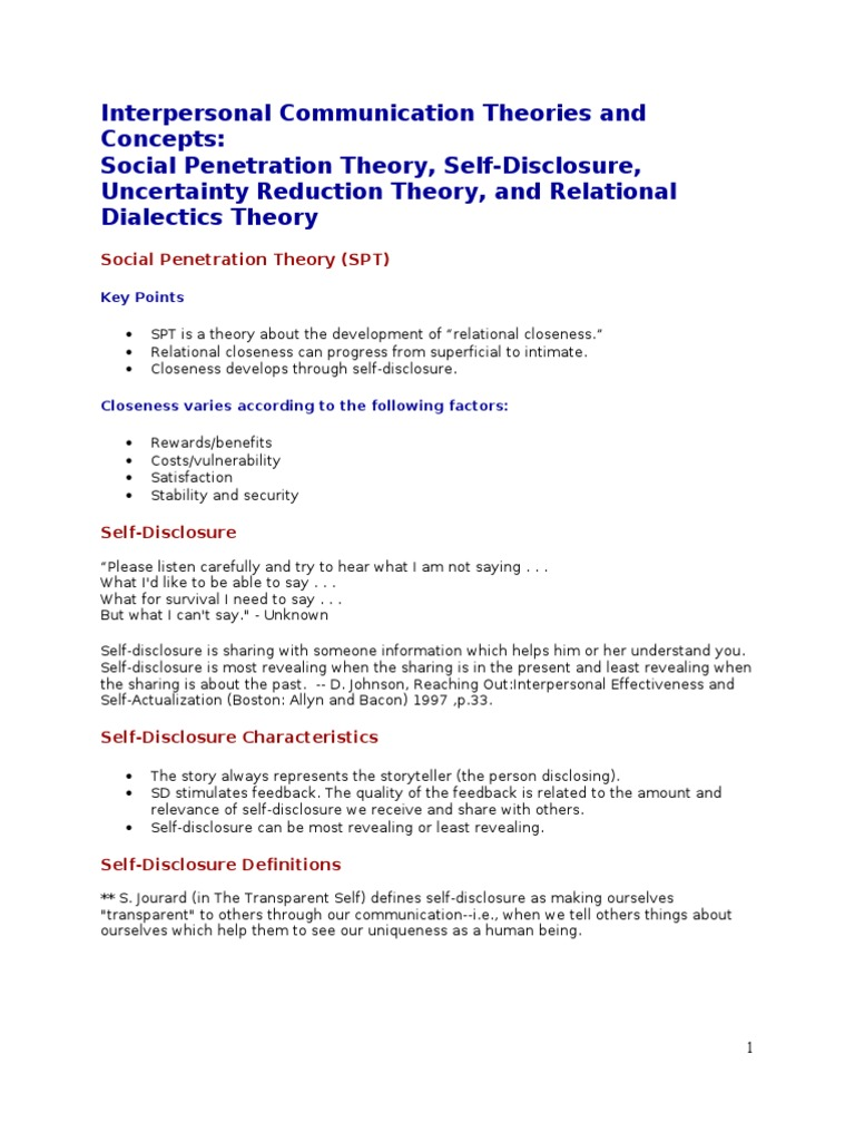uncertainty reduction theory definition