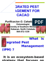 Integrated Pest Management for Cacao