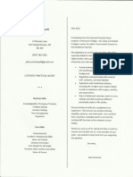 cover letter   resume lpn scan for online portfolio