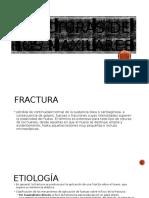 Fracturas de Los Maxilares