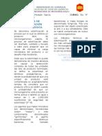 Métodos de Control y Esterificación en Microbiología