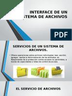 Interface de Un Sistema de Archivos (1)