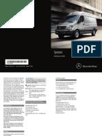 2015 Mercedes Benz Sprinter Maintenance Manual