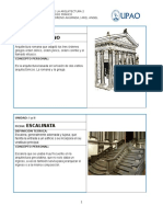 GLOSARIO HISTORIA DE LA ARQUITECTURA