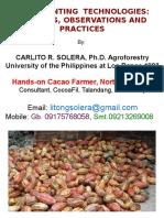 Post Planting Technologies