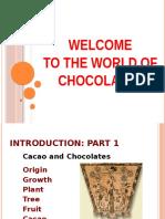 Chocolate Science Workshop