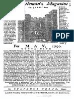 TheGentlemans Magazine - May 1790