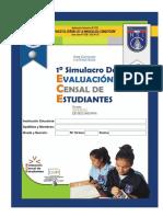 ECE 2015 - 2° Matemáticas