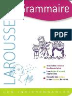Larousse - Grammaire - Les Indispensables