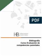 Bibliografía curso Competencias Parentales
