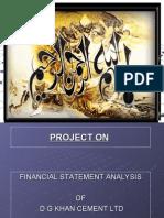Final Project of D G Khan Cement