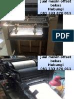 081 333 870 011 (Telkomsel) Mesin cetak sticker