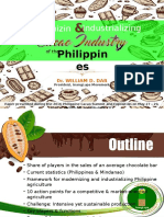 Modernizing and Industrializing the Cacao Industry in the Philippines