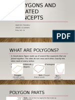 Polygons and Related Concepts