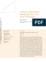 An Excess of Description Ethnography Rac