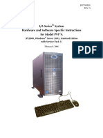 Hardware and Software Specific Instructions for Model P91*A