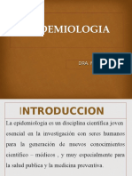 Concepto de Epidemiologia