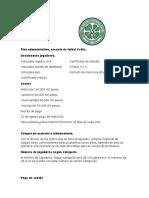 Plan Administrativo y Financiero Celtic Fc