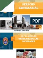 Cap II - Reglas Generales de Las Sociedades