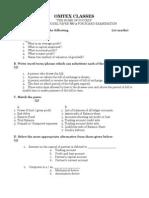 Accounts Preliminary Paper No 2 2009 - 2010