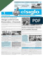 Edicion Impresa El Siglo 01-06-2016