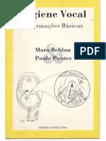 Higiene Vocal Mara Behlau e Paulo Pontes
