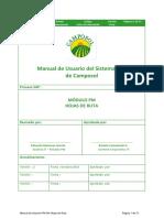 Manual de Usuario PM-044 Hojas de Ruta