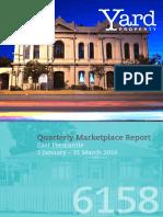 East Fremantle Quarterly Report (Jan-Mar 2016)