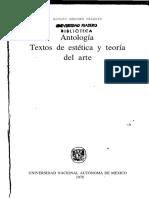 El Arte y Las Masas. Sanchez Adolfo.