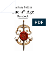 The Ninth Age Rules