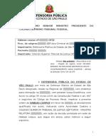 Hc - Stf - Regime Inicial Aberto - Tráfico Réu Primário