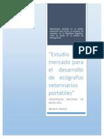 Estudio de Mercado para el desarrollo de Ecografos Veterinarios Portatiles