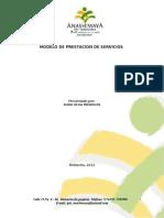 Modelo de Prestacion de Servicios Anashiwaya