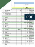 Chiller Data Sheet