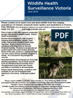 Wildlife Health Surveillance Vic Flier June 2016
