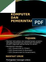 Pertemuan 7 - Komputer Dan Pemerintahan