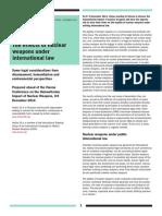 Nuclear Weapons Under International Lawbb5.12.14