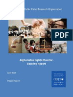 Afghanistan Rights Monitor Baseline Assessment