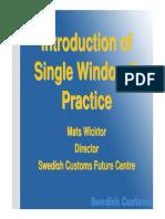 Swedish Trade Facilitation