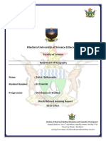 Micro, Small and Medium Enterprises (MSME) Development in Zimbabwe -Internship Report