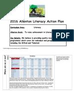 literacy action plan 16