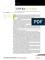 Cultura y Clima Artículo