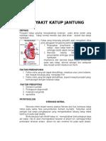 Penyakit Katup Jantung Definisi