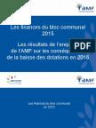 Les finances du bloc communal en 2015 (AMF, mai 2016)