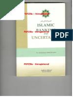 Islamic Banking and Uncertainity